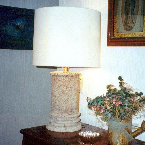 Lamparas iluminacion de fibra de vidrio fiberland for Lamparas diseno imitacion
