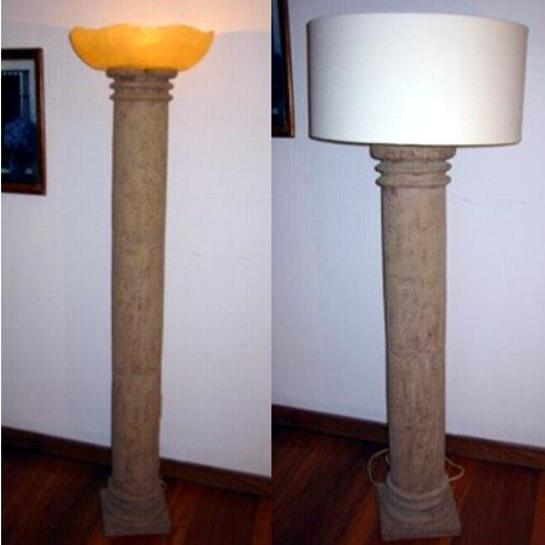 Como hacer una lampara de pie exterior - Como hacer lamparas de pie ...