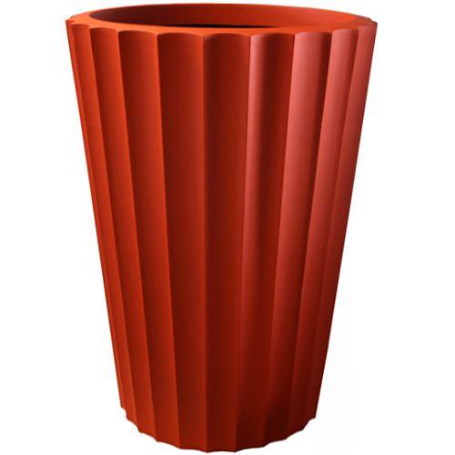 Macetas de fibra de vidrio minimalistas fiberland - Maceta fibra de vidrio ...