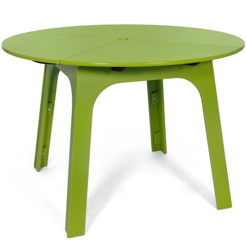 Mesa redonda Alfresco de Loll Designs en color verde