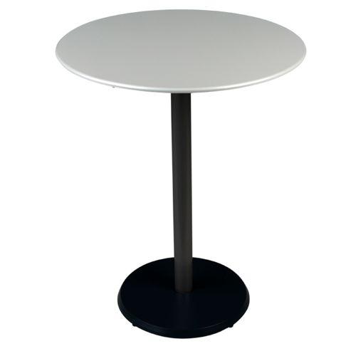 mesa concorde de pedestal redonda