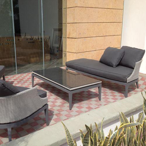 Dorothy muebles de exterior fiberland for Muebles de exterior mexico