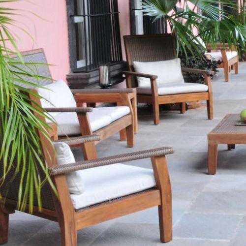 Grosetto muebles de exterior fiberland for Muebles de exterior mexico