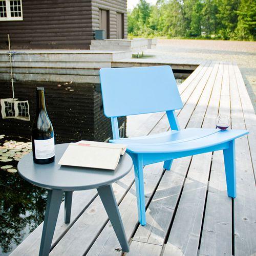 Lounge muebles de exterior fiberland for Muebles exterior plastico