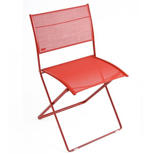 Silla plegable con malla de colores modelo Plein Air