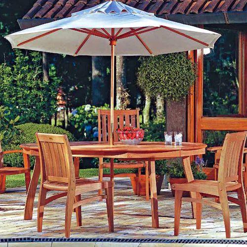 Plus muebles de exterior fiberland - Muebles exterior madera ...