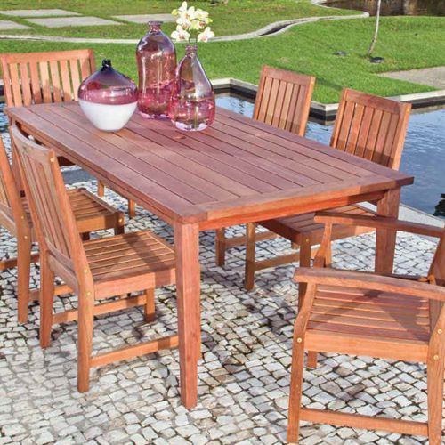 Plus muebles de exterior fiberland for Muebles de exterior madera