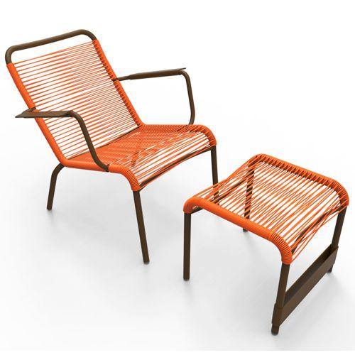 Muebles de jardin de fibra sintetica fiberland for Muebles de exterior