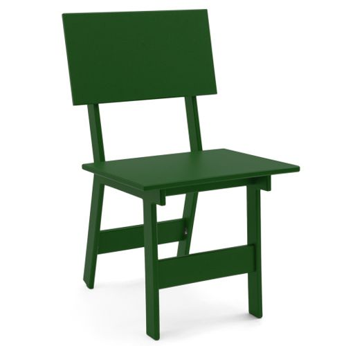 Silla Emin de David Salmela en color verde, ideal para exterior