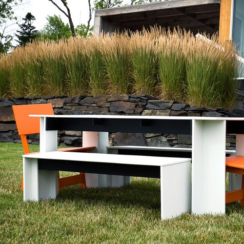 Salmela muebles de exterior fiberland for Muebles plastico jardin
